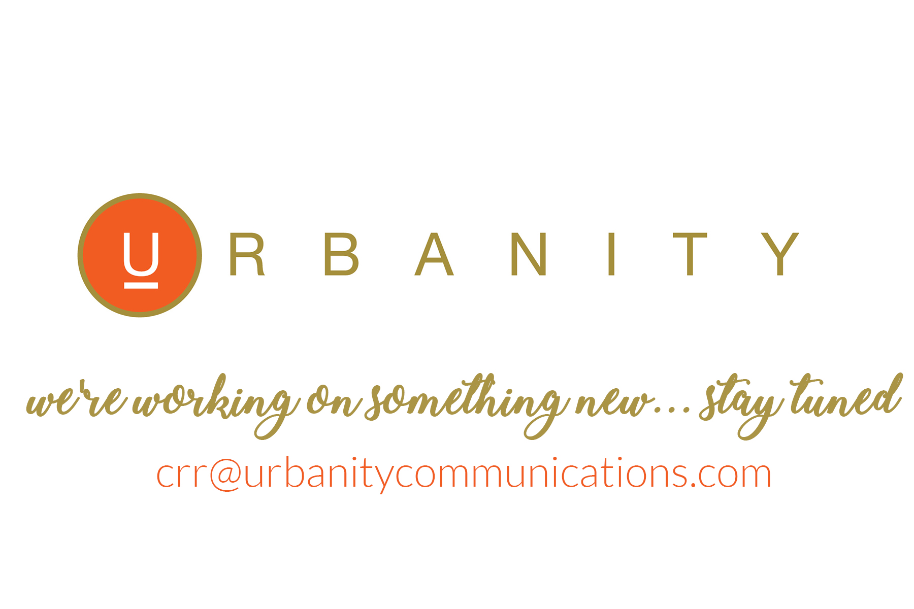 urbanitycoming